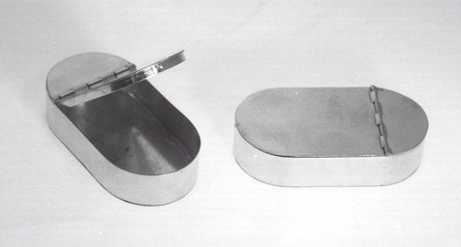 C d jarnagin company tinware utensils and boxes cans for Small tin containers
